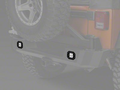 Raxiom 3 in. Flush Mount 4-LED Off Road Light - Spot Beam