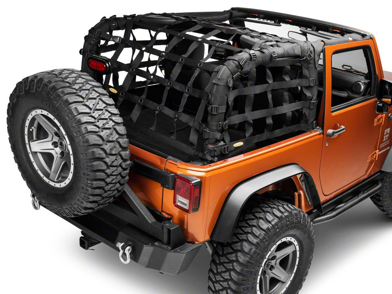 Smittybilt C-RES2 Cargo Restraint System (07-18 Jeep Wrangler JK)