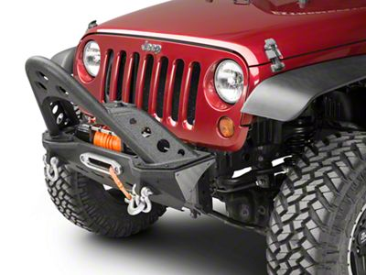 Smittybilt XRC M.O.D. Stinger - Textured Matte Black (07-18 Jeep Wrangler JK; 2018 Jeep Wrangler JL)