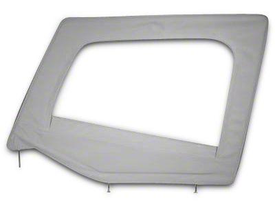 Smittybilt Door Skin w/ Frame - Gray Denim (87-95 Jeep Wrangler YJ)