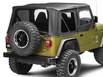 Smittybilt Premium Replacement Soft Top w/ Tinted Windows (97-06 Jeep Wrangler TJ, Excluding Unlimited)