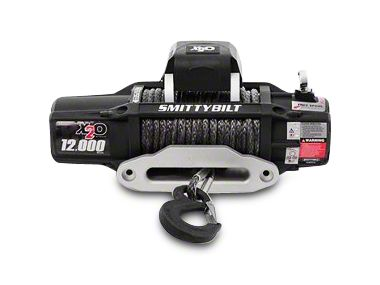 Smittybilt Gen2 X2O 12,000 lb. Winch w/ Synthetic Rope & Wireless Control (87-19 Jeep Wrangler YJ, TJ, JK & JL)