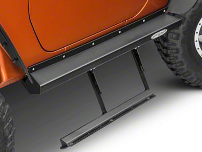 Rock-Slide Engineering Step Sliders (07-18 Jeep Wrangler JK 2 Door)