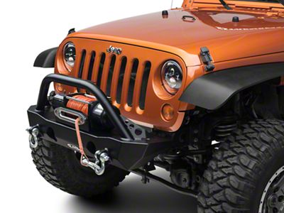 LoD Offroad Destroyer Shorty Front Bumper w/ Bull Bar (07-18 Jeep Wrangler JK)