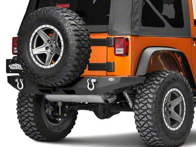 DV8 Off-Road RS-9 Full Length Rear Bumper (07-18 Jeep Wrangler JK)