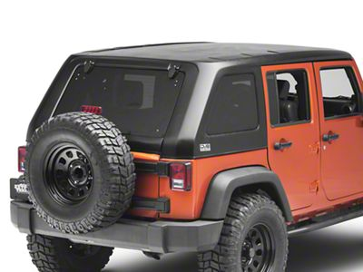 DV8 Off-Road Fastback Hard Top (07-18 Jeep Wrangler JK 4 Door)