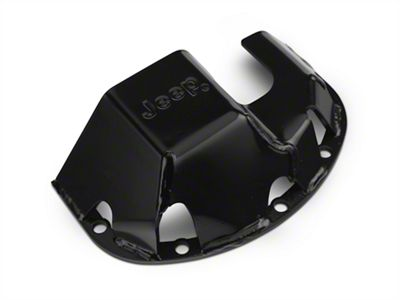 Mopar Differential Skid Plate w/ Jeep Logo for Dana 30 (87-18 Jeep Wrangler YJ, TJ & JK)