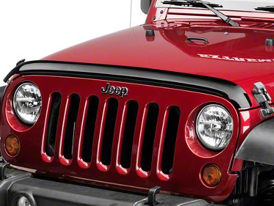 Mopar Front Air Deflector - Smoked (07-18 Jeep Wrangler JK)