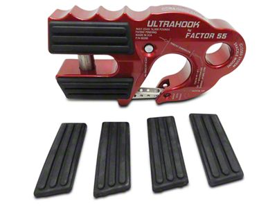 Factor 55 FlatLink XXL/UltraHook Rubber Guards - Set of Four