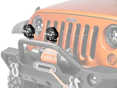 PIAA 510 Series 4 in. Round Xtreme White SMR Light - Driving Beam (87-18 Jeep Wrangler YJ, TJ, JK & JL)