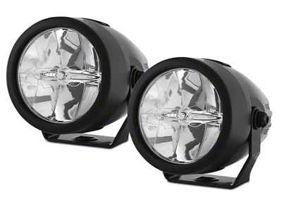 PIAA LP270 2.75 in. Round LED Lights - Driving Beam - Pair