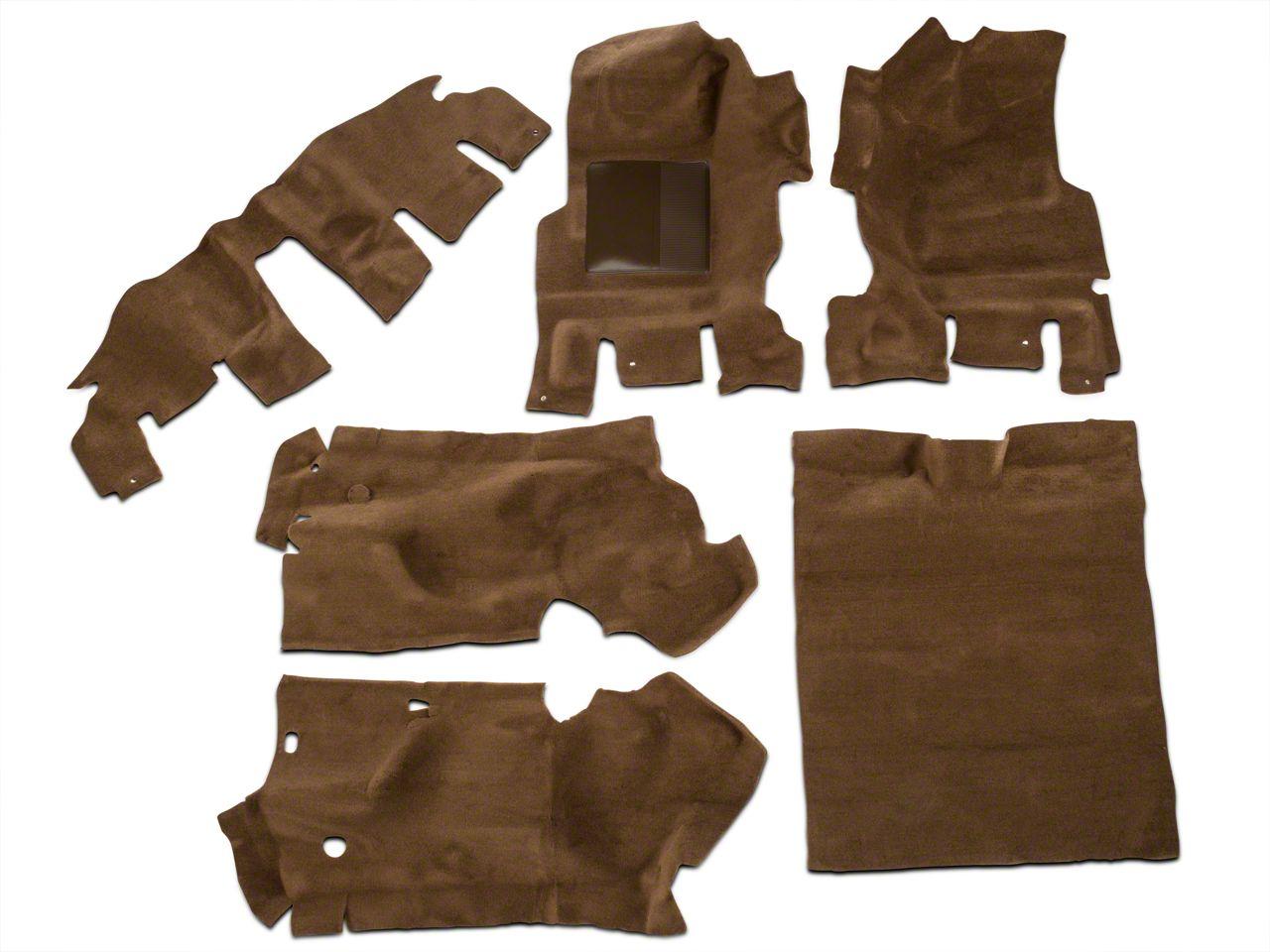 OPR Complete Molded Replacement Carpet - Dark Saddle (97-02 Jeep Wrangler TJ)