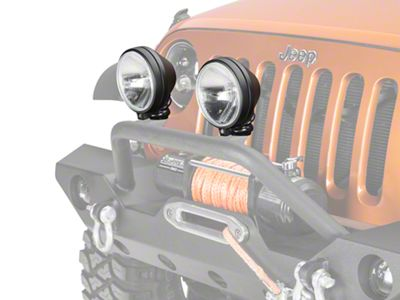 Delta 505 Series H.I.D. Light Kit - 35 Watt H.I.D. - Pair (87-18 Jeep Wrangler YJ, TJ, JK & JL)