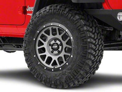 Pro Comp Alloy Series 40 Vertigo Matte Graphite Wheel - 18x9 (18-19 Jeep Wrangler JL)