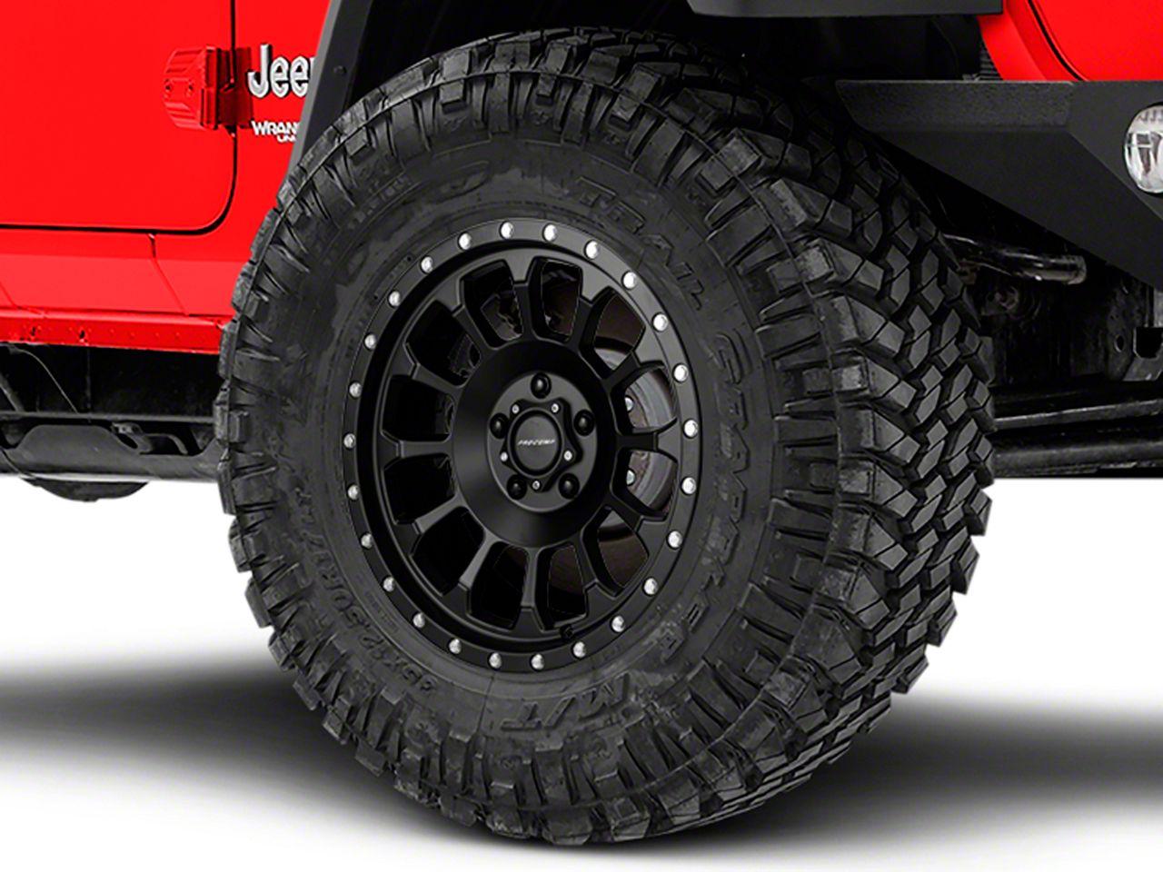 Pro Comp Wheels Alloy Series 34 Rockwell Satin Black Wheel - 18x9 (18-19 Jeep Wrangler JL)