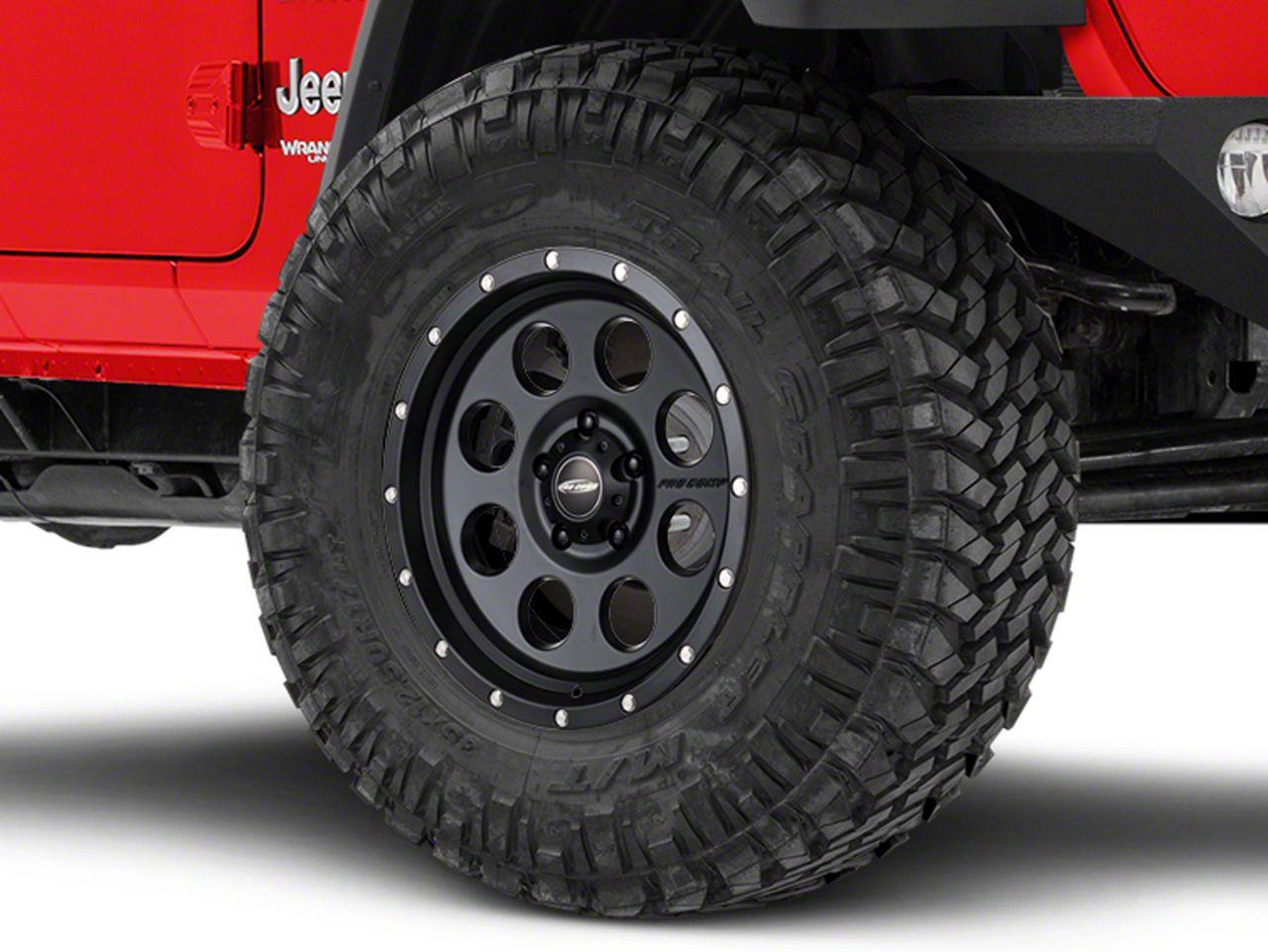 Pro Comp Wheels Alloy Series 45 Proxy Satin Black Wheel - 17x9 (18-19 Jeep Wrangler JL)