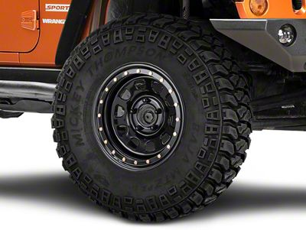 Pro Comp Steel Series 252 Street Lock Gloss Black Wheel - 16x8 (07-18 Jeep Wrangler JK)
