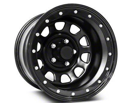 Pro Comp Steel Series 252 Street Lock Flat Black Wheel - 16x8 (07-18 Wrangler JK)