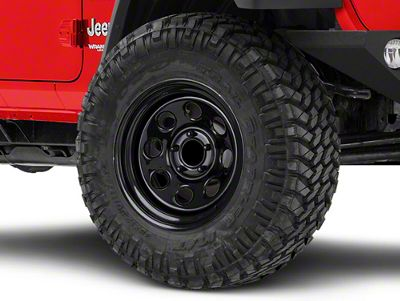 Pro Comp Steel Wheels Steel Series 97 Gloss Black Wheel - 17x9 (18-19 Jeep Wrangler JL)
