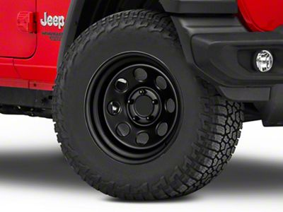 Pro Comp Steel Wheels Steel Series 97 Flat Black Wheel - 17x9 (18-19 Jeep Wrangler JL)