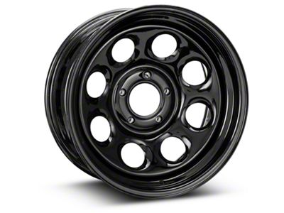 Pro Comp Wheels Steel Series 98 Rock Crawler Gloss Black Wheel - 17x8 (18-19 Jeep Wrangler JL)
