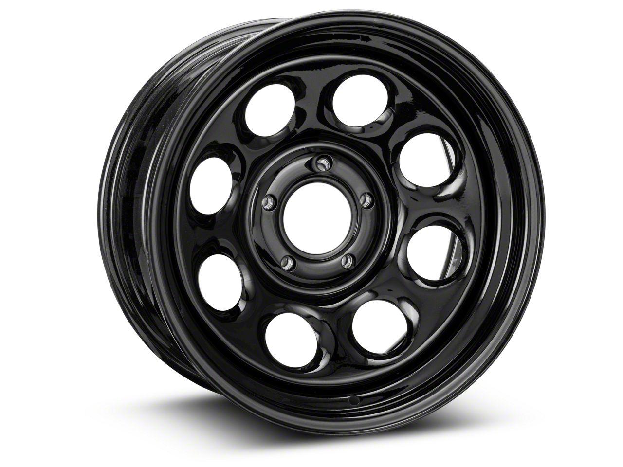 Pro Comp Steel Series 98 Rock Crawler Gloss Black Wheel - 17x8 (07-18 Jeep Wrangler JK)