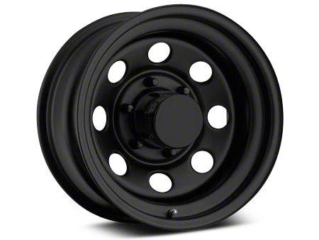 Pro Comp Steel Series 98 Rock Crawler Flat Black Wheel - 17x9 (07-18 Wrangler JK)