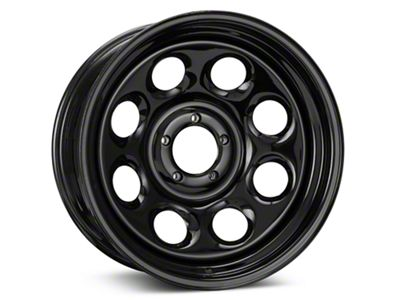 Pro Comp Wheels Steel Series 98 Rock Crawler Gloss Black Wheel - 17x8 (87-06 Jeep Wrangler YJ & TJ)
