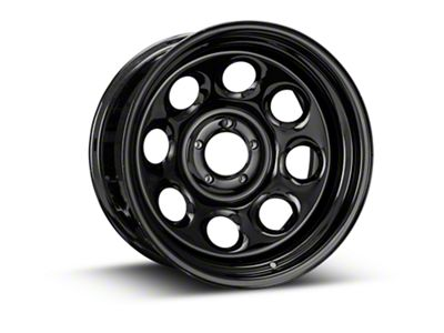 Pro Comp Wheels Steel Series 98 Rock Crawler Gloss Black Wheel - 17x9 (87-06 Jeep Wrangler YJ & TJ)