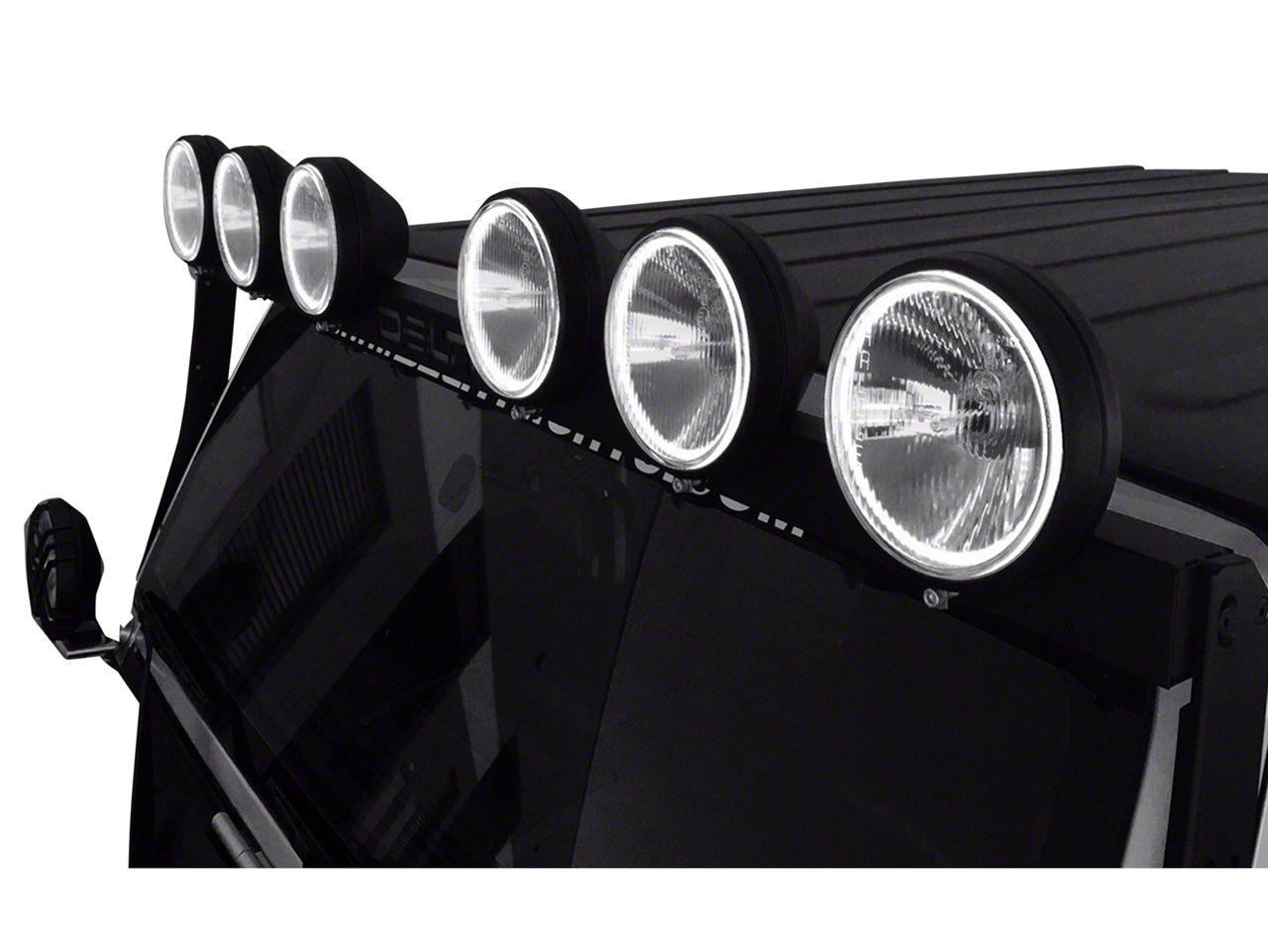 Delta BOLT 500 LED SkyBar (07-18 Jeep Wrangler JK)