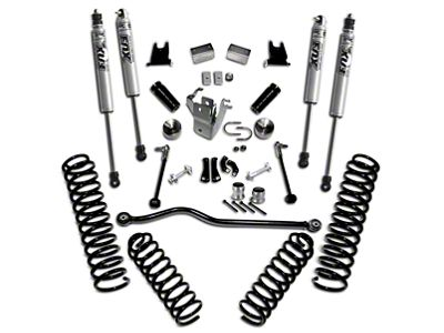 SuperLift 4 in. Suspension Lift Kit w/ Shocks (07-18 Jeep Wrangler JK 4 Door)