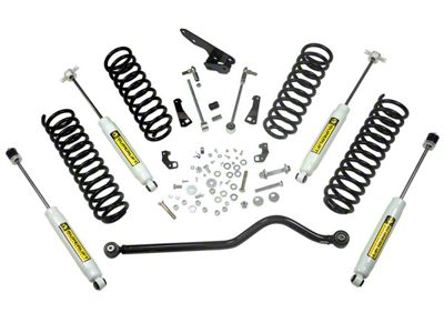 SuperLift 4 in. Value Suspension Lift Kit w/ Superide Shocks (07-18 Jeep Wrangler JK 4 Door)