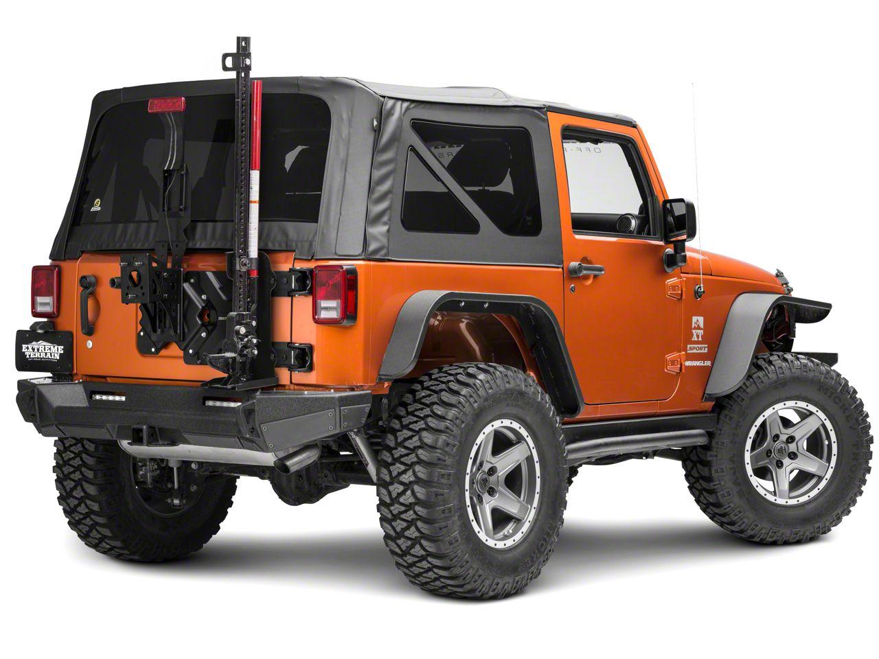 Smittybilt Trail Jack Mount (07-18 Jeep Wrangler JK)