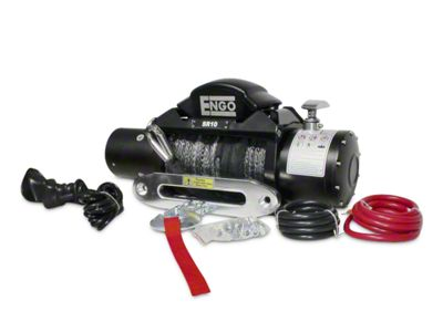 Engo SR Series 10,000 lb. Winch w/ Synthetic Rope