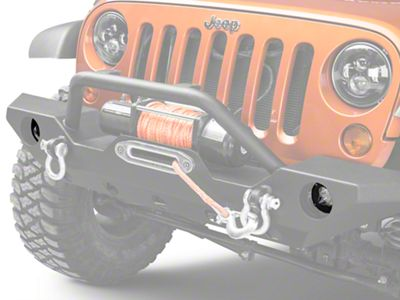 Rugged Ridge 3.5 in. Round LED Lights w/ Mounting Brackets - Dual Beam - Pair (07-18 Jeep Wrangler JK)