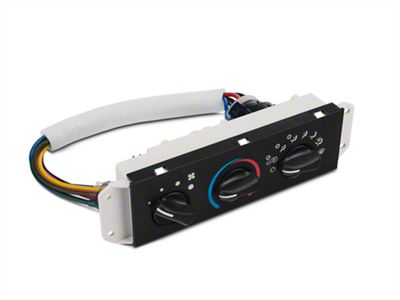 Omix-ADA Replacement Climate Control Panel (99-04 Jeep Wrangler TJ)