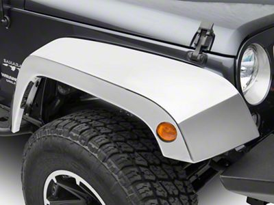 ABS Fender Flares - Chrome (07-18 Jeep Wrangler JK)
