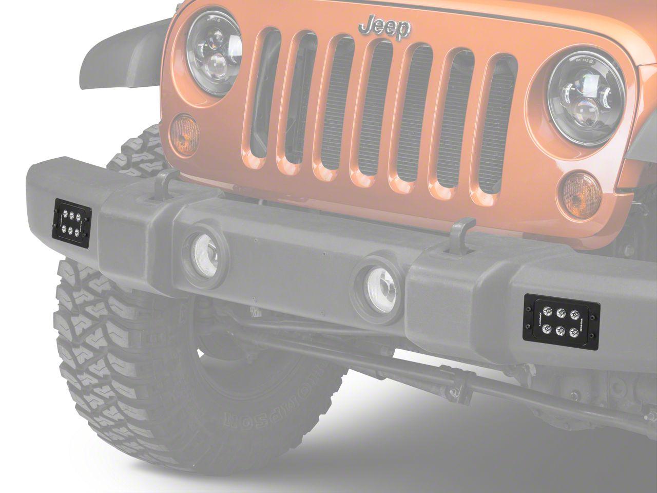 6 in. Luminix High Power 6 LED Flush Mount Light Bar