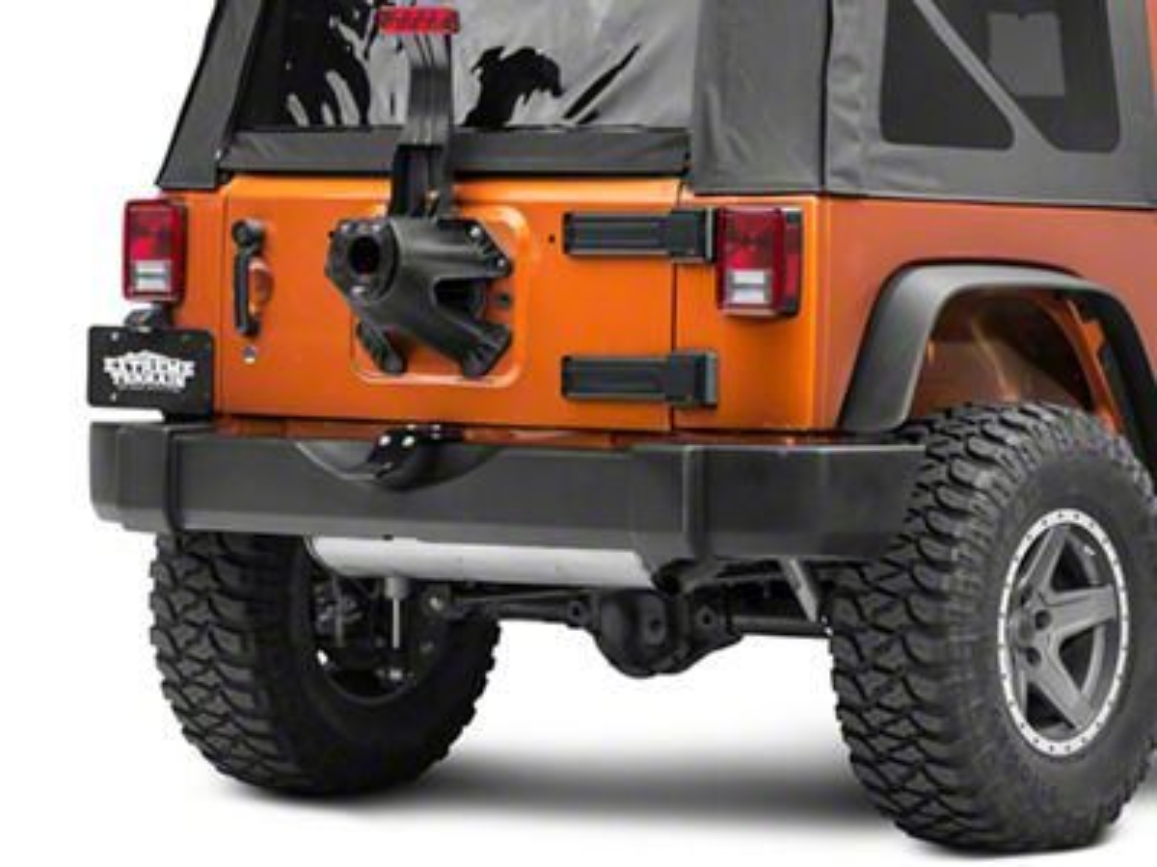 SkyJacker Tailgate Saver Spare Tire Support Kit (07-18 Jeep Wrangler JK)