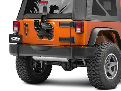 SkyJacker Spare Tire Relocation Kit (07-18 Jeep Wrangler JK)
