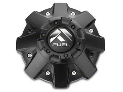 Fuel Wheels Black Center Cap (87-19 Jeep Wrangler YJ, TJ, JK & JL)