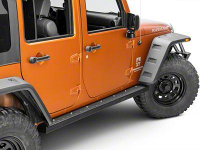 Kargo Master Rocker Walk Side Step Bars (07-18 Jeep Wrangler JK 4 Door)