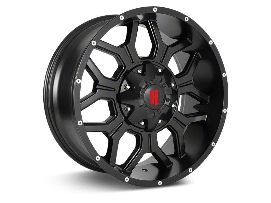Havok Off-Road H-106 Matte Black Wheel - 20X9 (18-19 Jeep Wrangler JL)