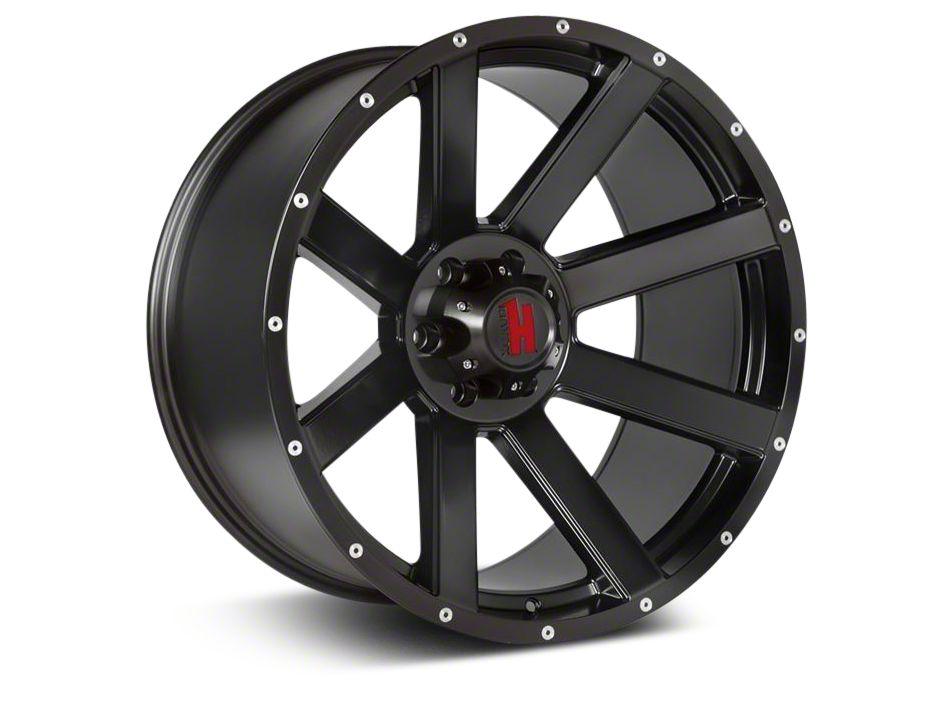 Havok Off-Road H-107 Matte Black Wheel - 20X9 (18-19 Jeep Wrangler JL)