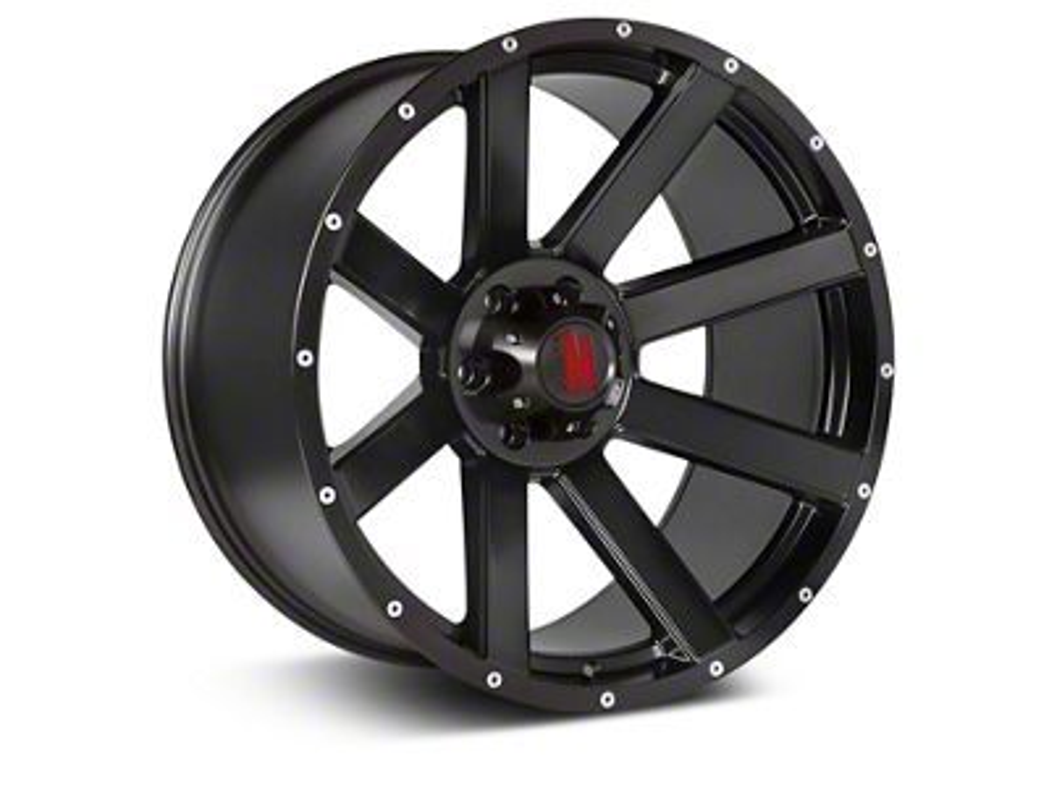 Havok Off-Road H-107 Matte Black Wheel - 20X9 (07-18 Jeep Wrangler JK)