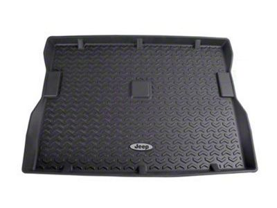 Rugged Ridge All Terrain Cargo Liner w/ Jeep Logo - Black (87-95 Jeep Wrangler YJ)