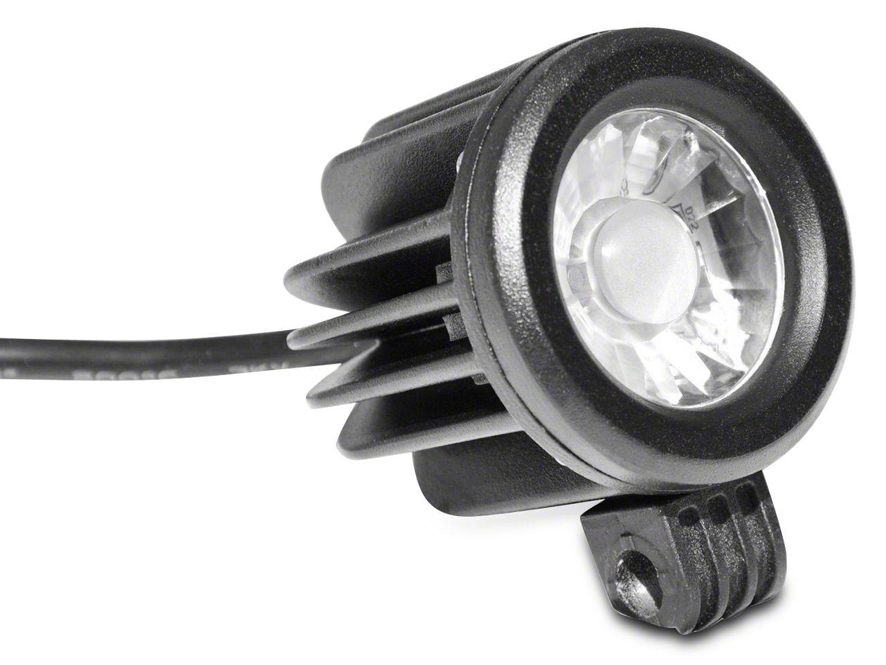 DV8 Off-Road 2 in. Round LED Light - Spot Beam