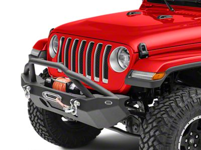DV8 Off-Road FS-14 Hammer Forged Mid Width Front Bumper (2018 Jeep Wrangler JL)