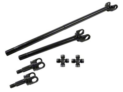 Alloy USA Front Axle Kit (97-06 Jeep Wrangler TJ)