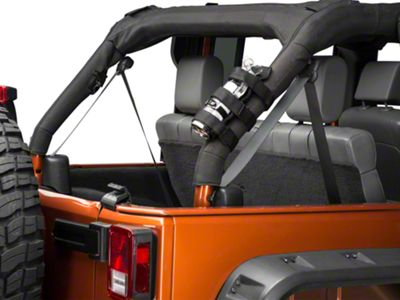 RedRock 4x4 Roll Bar Fire Extinguisher Mount (07-18 Jeep Wrangler JK)